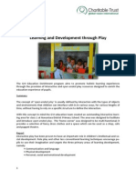 GVI Fiji Achievement Report September 2014.Dawasamu- Learning Through Play