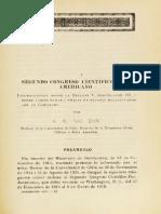 Congreso Científico Panamericano. Anales
