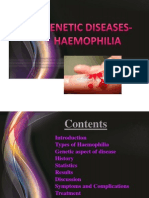 Heamophilia Research