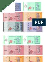 Wang Kertas (Baru) RM1-RM100