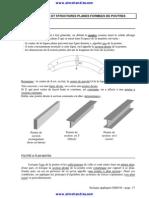 5 Statique Appliquee Poutre Et Structure Plane