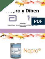 Diben y Nepro nutricion enteral