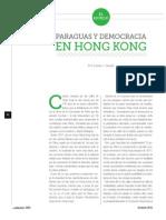 Paraguas y Democracia en Hong Kong (La Nación 2393)