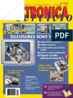 Televisores Sony Wega
