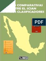 Tablas Comparativas Entre El Scian y Otros Clasificadores (Parte i)