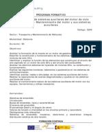 Curso Mantenimiento de Sistemas Auxiliares Del Motor de Ciclo Otto