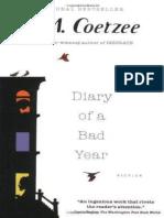 Coetzee, J. M. - Diary of a Bad Year (Harvill Secker, 2007)