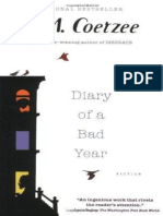 Coetzee, J. M. - Diary of a Bad Year (Harvill Secker, 2007)