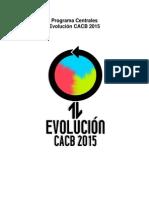 Programa Centrales Evolución 2015