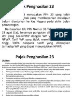 pph pasal 23