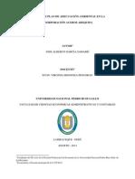 MODELO DE PLAN DE ADECUACIÓN AMBIENTAL EN LA  COORPORACIÓN ACEROS AREQUIPA