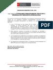 Comunicado - Captura de Extranjero Presuntamente Vinculado a Organización Terrorista Internacional