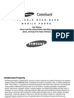 Samsung Comeback t559 for T-Mobile
