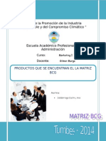 Marketing Matriz Bcg