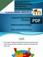 Presentación Plataforma Moodle.