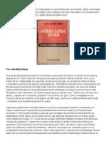 """José María Rosa y """"América Latina_ Un País"""" de Abelardo Ramos"""