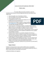 Bases Elecciones Centro de Estudiantes 2014-2015