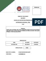 QKU 3033 Sosiologi Sukan Dan p.i.n.-tugasan 1