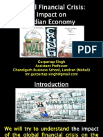 Global Financial Crisis and India