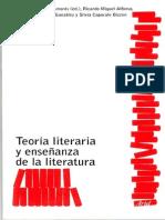 Álvarez José, Crítica y Superación de La Especificidad Literaria