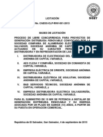 Bases Licitacion CAESS-CLP-RNV-001-2013 - Aprob 4 Sept - Final Con Sello
