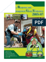 Allegany County (MD) Emergency Response and Crisis Management Grant Evaluation, 2005-2007