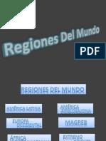 regiones del mundo