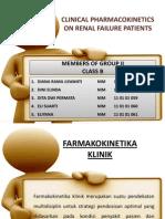 Farmakokinetika Klinik Gagal Ginjal Kelompok II (b)