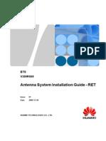 74247717 BTS Antenna System Installation Guide RET V300R009 01