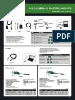 Mini Catálogo Insize 2012