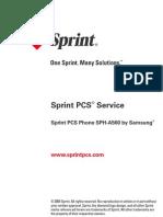 Samsung a560 for Sprint