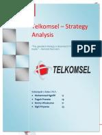 Tugas Manajemen Strategi_EFE Matrix PT. Telkomsel