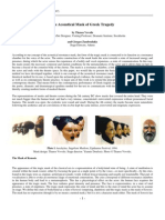 The acoustical mask of Greek Tragedy  by Thanos Vovolis and Giorgos Zamboulakis