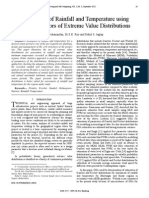 Assessment of Rainfall and Temperature using OSA Estimators of Extreme Value Distributions