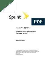 Samsung a940 for Sprint