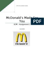 Mcdonalds Made for you