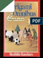 Kasahara Kunihiko - Origami Omnibus - Paper Folding for Everybody en