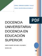 Modulo III (Docencia en Educación Superior)