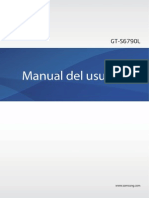 Manual de Usuario Samsung galaxy Fame lite