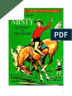 IB Henry Marguerite Misty le poney de l'île sauvage 1967.doc