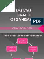 Ppt Menstra Implementasi Strategi Organisasi