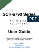 Samsung a790 for Verizon Wireless