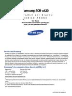 Samsung u430 for Verizon Wireless