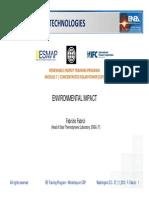 ESMAP IFC RE CSP Training World Bank Fabrizi