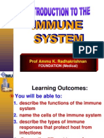 1 Introduction to Immune System