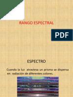 Rango Espectral