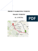 Proiect marketing turistic