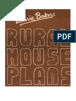Laurie Baker-Rural House Plans
