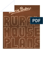 Laurie Baker-Rural House Plans