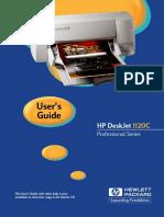HP 1120C User Guide
